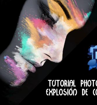 Efecto Photoshop Explosión de Colores