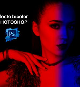 efecto bicolor en photoshop