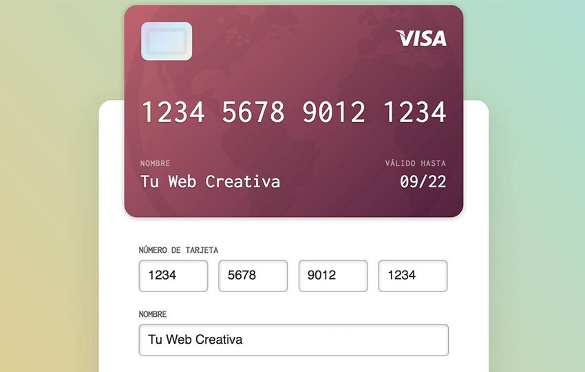 validación de tarjetas de crédito
