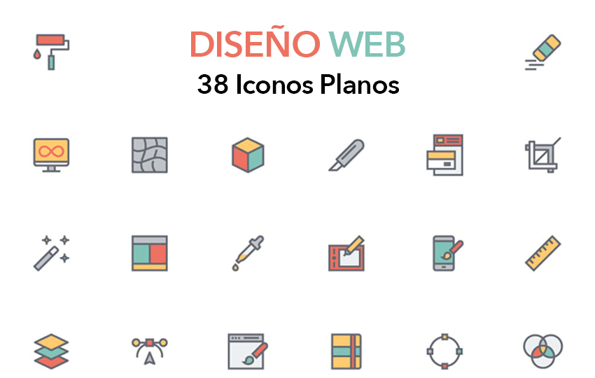 iconos planos