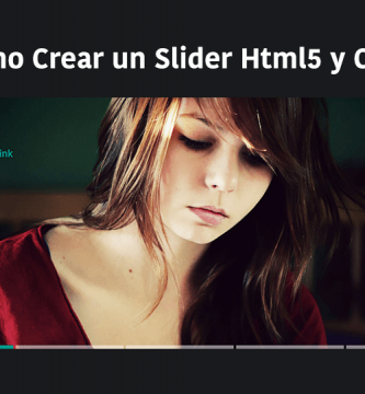Slider en Html5 y CSS3