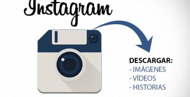Descargar fotos y vídeos de Instagram