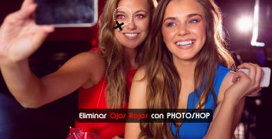 Quitar ojos rojos con Photoshop