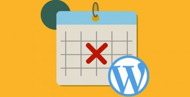 Eliminar fecha en Wordpress