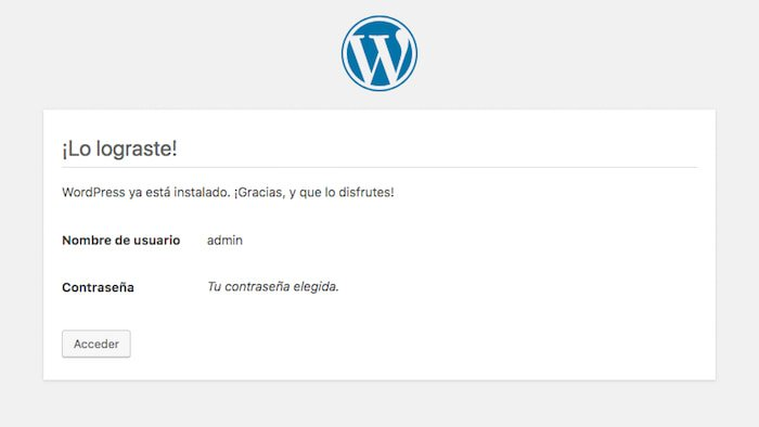 Crear una página web en WordPress
