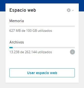 Administrador archivos para crear una web en WordPress