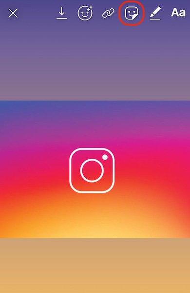 Stickers cuestionarios de Instagram