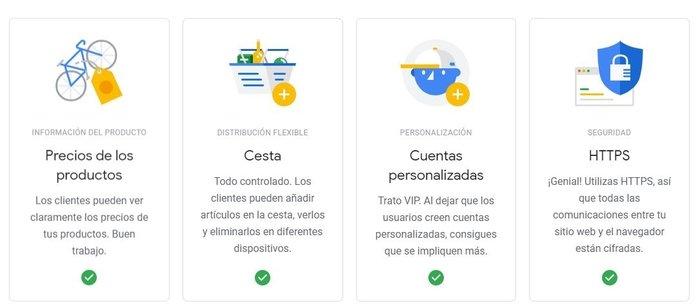 Grow my Store de Google - Informe preliminar.