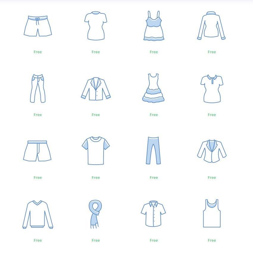 Iconos ropa Instagram