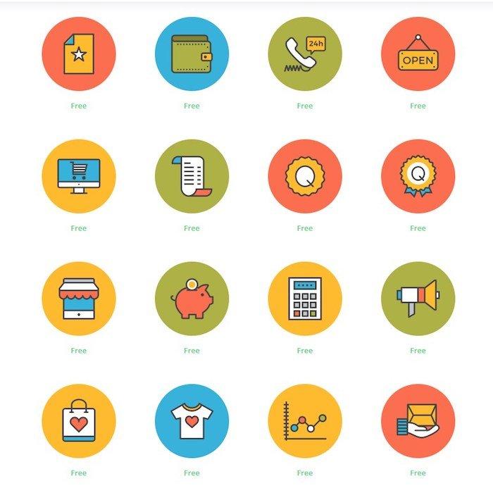 Iconos para tiendas y ecommerce Instagram