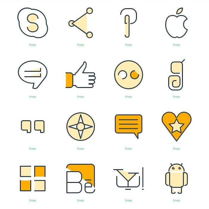 Iconos redes sociales instagram