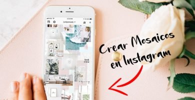 Crear mosaico de fotos en Instagram