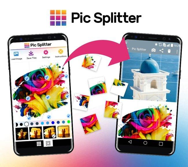 Pic Splitter divide tus fotos para crear mosaicos en Instagram