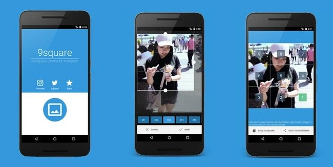 Grids para Instagram - Android