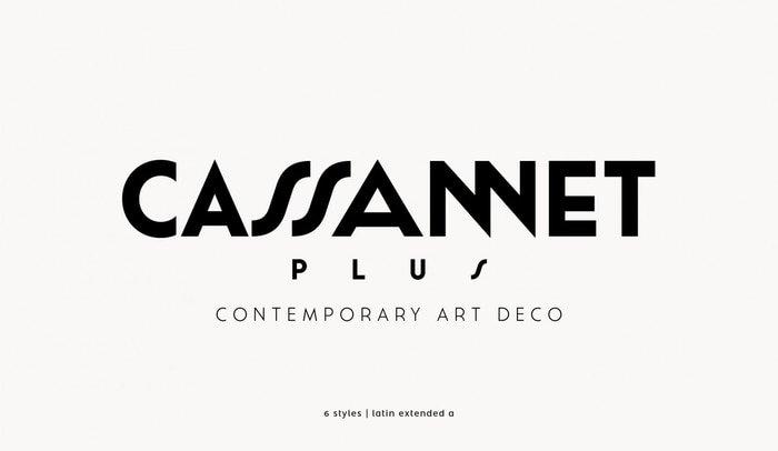 Elegante tipografía para carteles y pósters