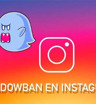 Shadowban en Instagram