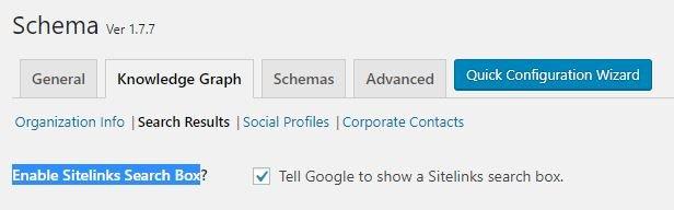 Configurar Search Result en Schema