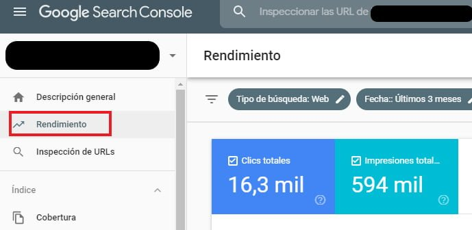 Palabras Claves de Oportunidad con Google Search Console