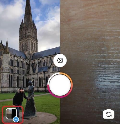 Seleccionar imágen para crear Collage en las Historias de Instagram