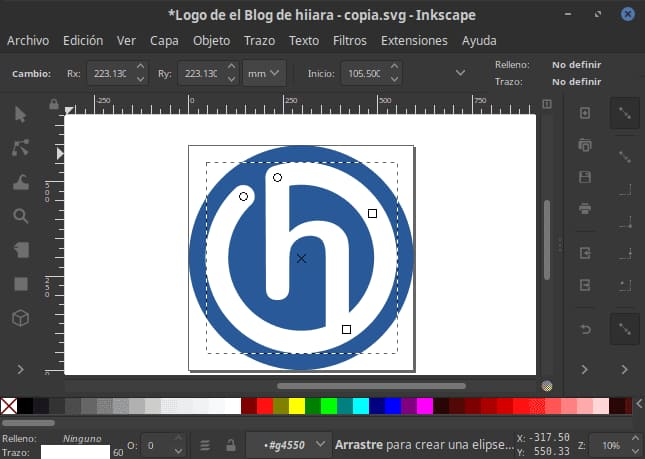 Inkscape sustituto de Adobe Illustrator