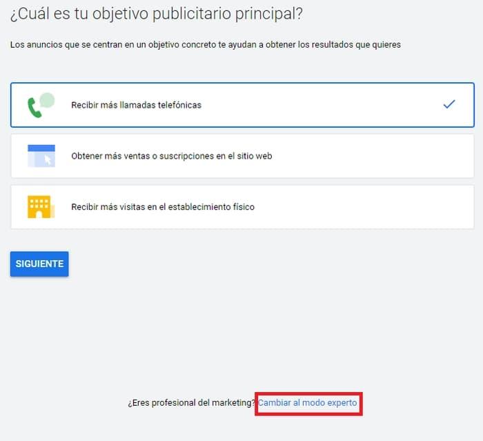 Crear una cuenta de Google Ads Gratis