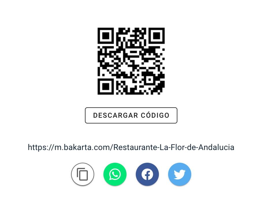 Código QR Cartas Digitales para Bares y Restaurantes