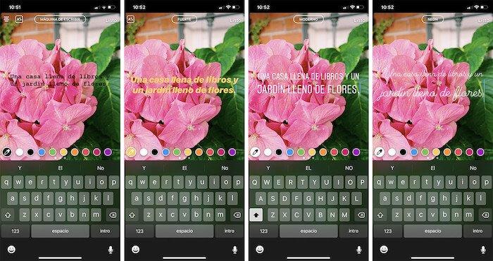 Como agregar nuevas tipografías para Instagram Stories