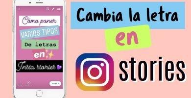 Conseguir nuevas tipografías para Instagram Stories
